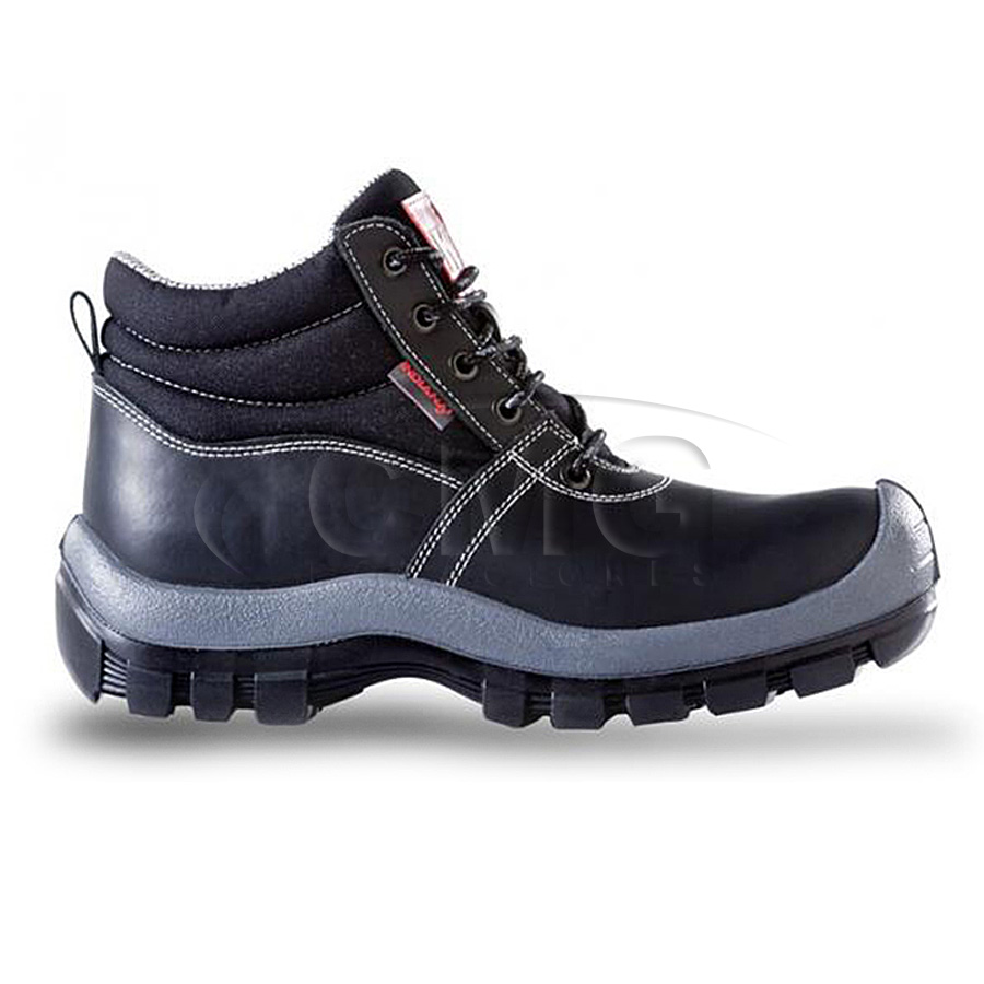 Bota seguridad mundial negra for Calzado de seguridad bricomart